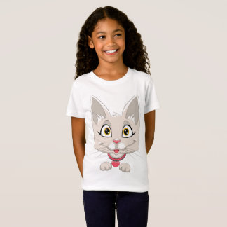 Happy Kitty  for Kids T-Shirt