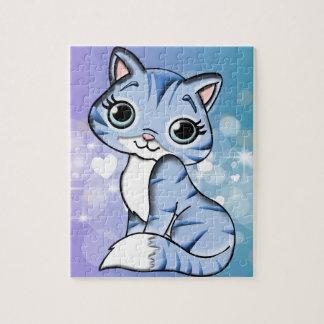 Happy kitty jigsaw puzzle