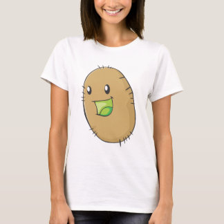 Happy Kiwi Fruit Smiling T-Shirt