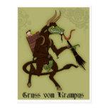 Happy Krampus Day! Postcard