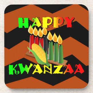 HAPPY KWANZAA COASTER