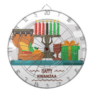 happy kwanzaa gifts dartboard