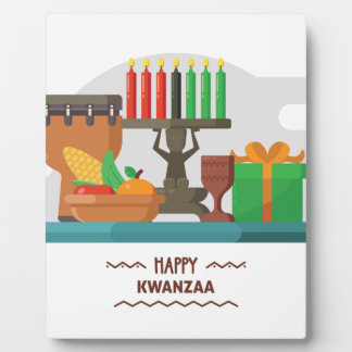 happy kwanzaa gifts plaque