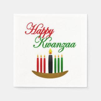 Happy Kwanzaa Kwanzaa Party Paper Napkins