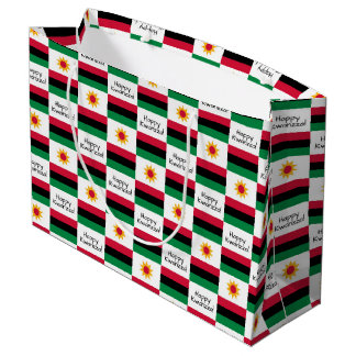 Happy Kwanzaa Large Gift Bag