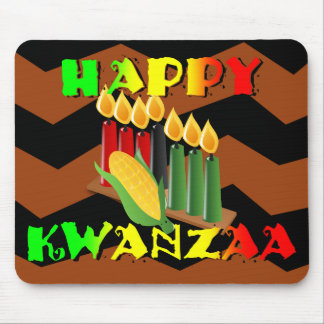 HAPPY KWANZAA MOUSE PAD