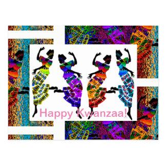 Happy Kwanzaa! Postcard