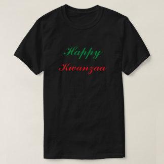 Happy Kwanzaa Red Green Black Custom T-Shirt