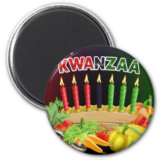 Happy Kwanzaa Sign Magnet