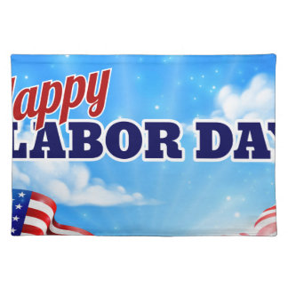 Happy Labor Day Poster Placemat