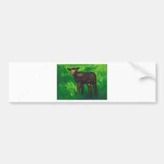 Happy Lamb Bumper Stickers