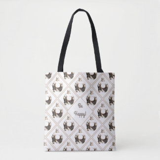 Happy laughing good luck Buddha Tote Bag