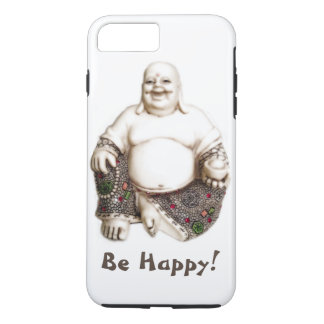 Happy laughing joyful good luck Buddha iPhone 7 Plus Case