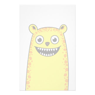 Happy leopard stationery