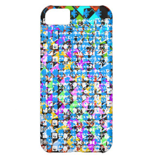 HAPPY Life Expression : NERD Abstract Art iPhone 5C Cases