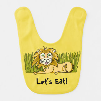 Happy Lion Baby Bib