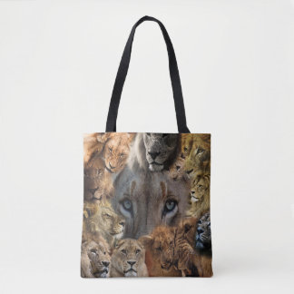 Happy Lions Tote Bag