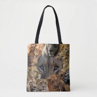 Happy Lions Tote Bag