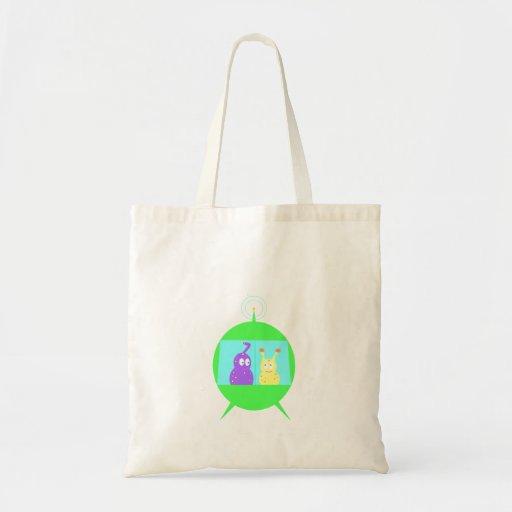 Happy Little Aliens tote bag