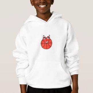 Happy Little Basketball kids hooded sweatshirt