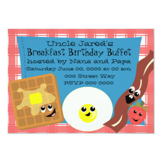 Happy Little Breakfast Card
