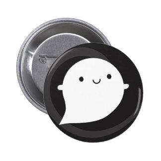 Happy Little Ghost 6 Cm Round Badge