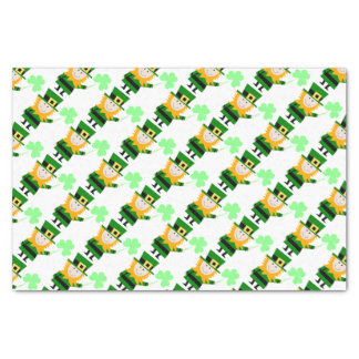 "Happy Little Leprechaun 10"" x 15"" Tissue Paper"