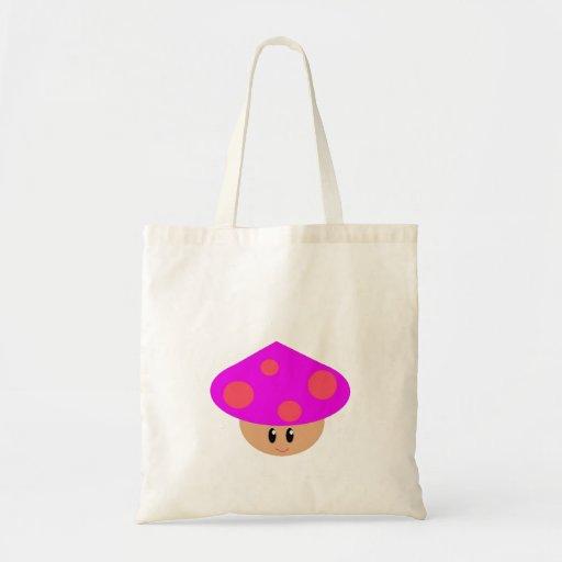 Happy Little Mushroom Budget Tote Tote Bag