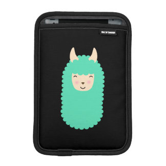 Happy Llama Emoji Electronics Sleeve iPad Mini Sleeves