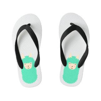 Happy Llama Kids Flip Flops