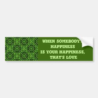 Happy Love_ Bumper Sticker