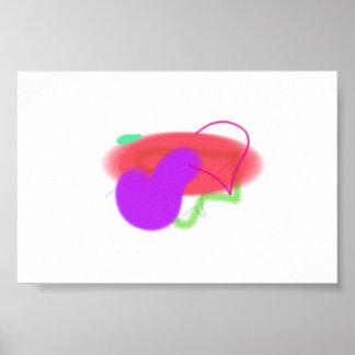 Happy Lucky Easy Positive Liberating Art Print