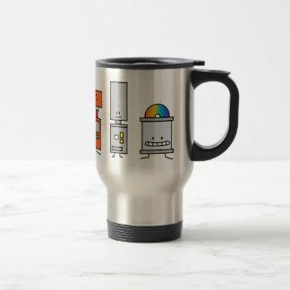 Happy Machine Robots Coffee Mugs
