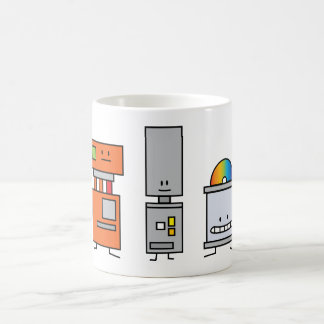 Happy Machine Robots Mug