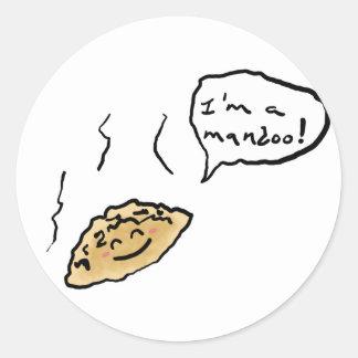 Happy Mandoo Sticker