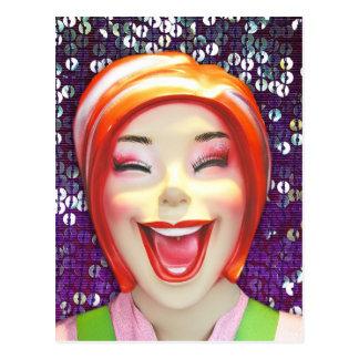 Happy Mannequin 8 Pk. Postcards