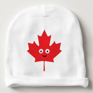 Happy Maple Leaf Baby Beanie
