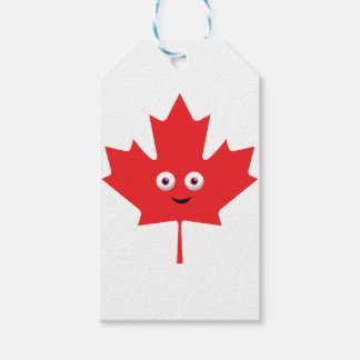 Happy Maple Leaf Gift Tags