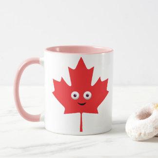 Happy Maple Leaf Mug