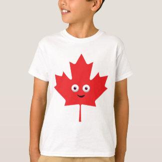 Happy Maple Leaf T-Shirt