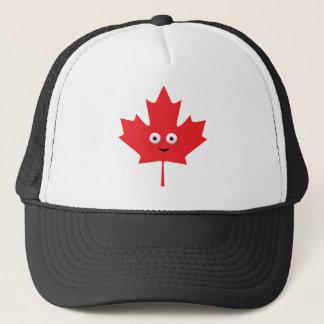 Happy Maple Leaf Trucker Hat