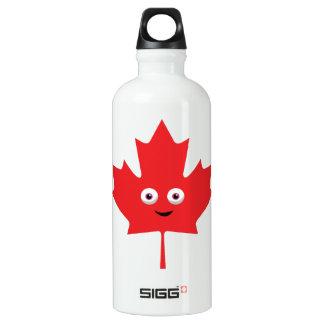 Happy Maple Leaf Water Bottle