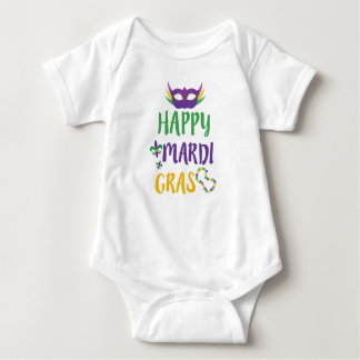 Happy Mardi Gras baby cute NOLA Shirt