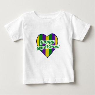 Happy Mardi Gras Logo Baby T-Shirt