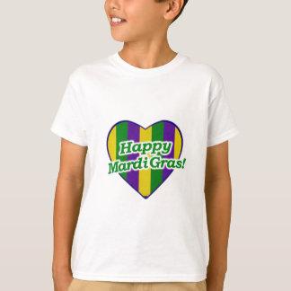 Happy Mardi Gras Logo T-Shirt