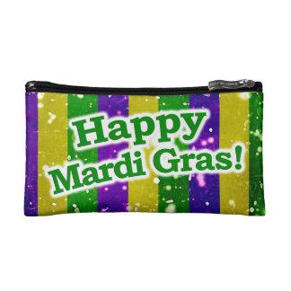 Happy Mardi Gras Poster Cosmetic Bag