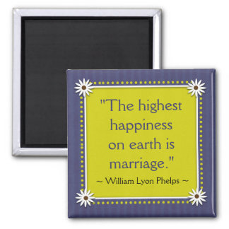 Happy Marriage Quotes Magnet