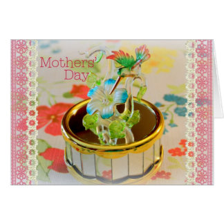 Happy Mather's Day Card with Hummingbird