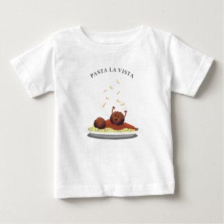 "Happy Meatball ""Pasta La Vista!"" Baby T-Shirt"