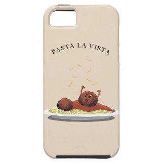 """Happy Meatball """"Pasta La Vista!"""" Case For The iPhone 5"""